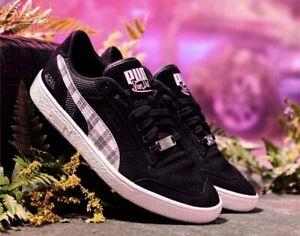New In Box Authentic PUMA x VON DUTCH Ralph Sampson Lo Men's Sneakers Black 10.5