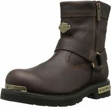 Harley-Davidson Men's Cromwell Fashion Motorcycle Boots D93495 Size 9 Brown