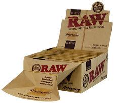 RAW CLASSIC Artesano KS Slim 32 Feuilles + 34 Tips/De 15 pièces Foliole,Papier,