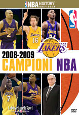 DVD N°13 NBA HISTORY 1997-2013 LOS ANGELES LAKERS CAMPIONI 2009 ITALIANO ENGLISH