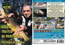 Grosses truites de printemps Technique & Pratique - Pêche de la truite - Vidéo P