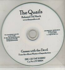 (CJ192) The Quails, Games With The Devil - DJ CD