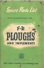 FR PLOUGHS & IMPLEMENTS PARTS MANUAL - GTC5B **ORIGINAL**