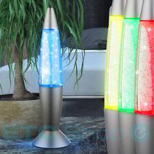 Lampe de table LED Lampe à lave effet tourbillon salle des enfants lumière nuit
