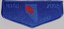 TANNU OA LODGE 346 Nevada Area Council  WIYAKA NOAC 2002 BLUE GHOST FLAP TOUGH!!