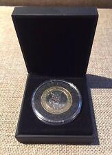 "2014 Rare ""Genuien"" First World War Centenary Circulated  £2 Coin"