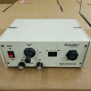 Moog Quickset Controller C90VS-AC115C Security Camera Pan/Tilt Controller