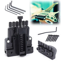 6 String Saddle Guitar Tailpiece Tremolo Bridge For Headless Guitar Replacements