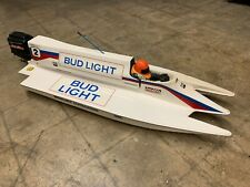 80's Amps Seebold Circuit Tunnel Vintage Rc Boat And Outboard Rare Original