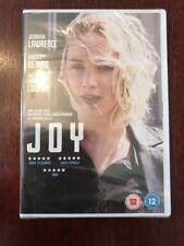 New & Sealed Joy Dvd Jennifer Lawrence Robert De Niro Bradley Cooper