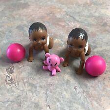 Barbie Skipper Babysitters Babysitter Toy Nursery Playset Baby Sitter 1:6 Scale