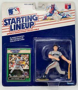 1989 KENNER STARTING LINEUP MLB MATT NOKES DETROIT TIGERS MOC