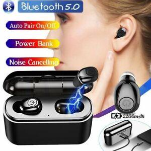 Wireless Bluetooth 5.0 headset ear buds in-ear earphones headphones IOS android