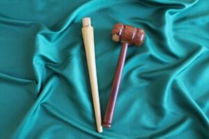 Bat Mallet (Dual Rounded Head) and Gripping Cone Set