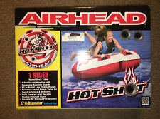 New ~ Airhead Hot Shot Nylon Towable Water Tube ~ Water Sports~ Single Rider