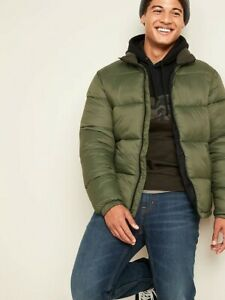 Jacket for Mens Old Navy Frost-Free Zip-Front Puffer SIZE XXXL