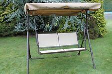 Olive Grove Textoline & Steel 2 Seater Garden Hammock Swing Seat