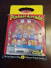Melissa & Doug On the Go Pinball Arcade Travel Game - Fast shipping!