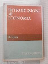 INTRODUZIONE ALL ECONOMIA R Lipsey Luigi Frey Antonio BriennaEtas Kompass 1966