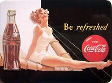 Coca Cola Sailing Girl Kühlschrankmagnet 3D Fridge Refrigerator Magnet 6 x 8 cm