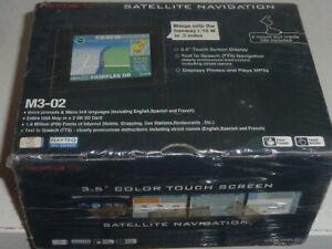 "Nextar Satellite Navigation GPS M3-02 Voice Prompt Touch Screen 3.5"" MP3 Photos"