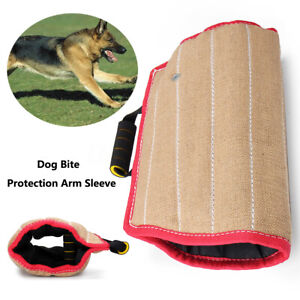 Dogs Bite Sleeve Arm Safety Protection For Police Training Young German Shepherd