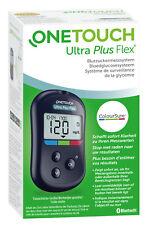 Onetouch Ultra Plus Flex Testeur de Glycémie Mg / Dl Plus Bandelettes de Test -