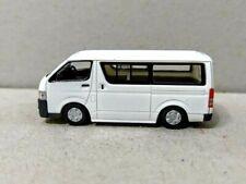 Tomytec 1/80 HO scale model car 80s - Toyota HiAce DX Light Vehicle Van WHITE