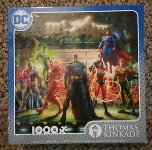 DC Justice League 1000 piece jigsaw puzzle Thomas Kinkade 41044