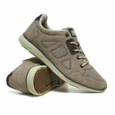 Mens New Casual Lace Up Faux Suede Walking Running Sports Trainers Shoes Size