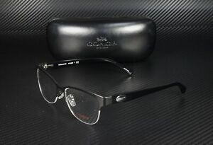 COACH HC5066 9192 Satin Black Black Demo Lens 53 mm Women's Eyeglasses