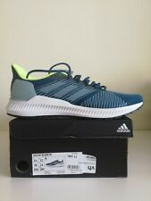 Adidas Solar Blaze Mens Running Shoe BRAND NEW Blue / Yellow Sneakers Trainers