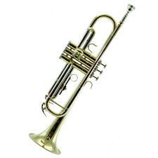 Band Approved Brass Trumpet w Hard Case+Carrying Bag