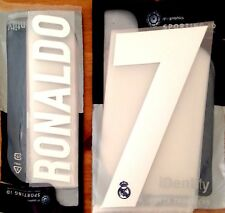 Kids 2016-17 Real Madrid RONALDO#7 Away Shirt OFFICIAL Sporting iD Name Number