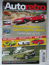 AUTO RETRO N° 371 /F DAYTONA VS LAM MIURA/MASE 3200 GT/309 GTI/CADILLAC SEVILLE