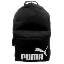 PUMA Phase Black /white Unisex School Gym Travel Sports Backpack Bag AU Stock
