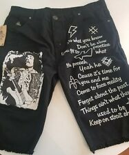 DNM Collection Jimi Hendrix Jean Short mens size 42 NEW