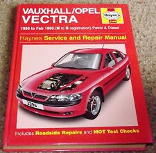 Haynes Owners + Workshop Car Manual 3396 - Vauxhall Vectra Petrol + Diesel 95-99