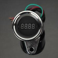 Tachometer Gauge Red Led Digital Speedometer 12v For Yamaha Atv Bike Motorcycle