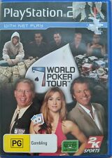 Playstation 2 PS2 Game World Poker Tour