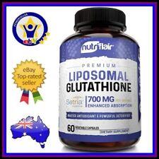 Liposomal Glutathione 700mg 60 Caps Master Antioxidant Setria Nutriflair