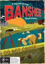 Banshee : Season 4 Final : NEW DVD