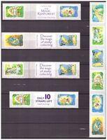 41119b) Australia 2002 MNH Magic Rainforest S-A Different Labels