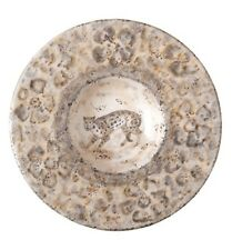 VIETRI SAFARI Medium Round Leopard Wall Plate