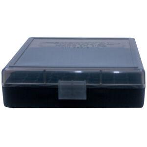 9mm / 380 Ammo Box Smoke/Black 100 Round (Quantity 1) Buy 5 Get 1 Free (Berry's)