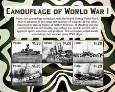 Palau 2015 - World War One stamps - sheet of 6 MNH