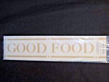 New Heart of Home Stencil - Good Food Good Wine Good Friends Good Times - Wall