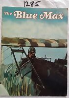 THE BLUE MAX MOVIE BOOKLET,URSULA ANDRESS,GEORGE PEPPARD, *ORIGINAL*
