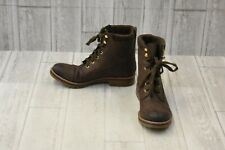 Tommy Hilfiger Omar 2 Combat Boot - Women's Size 7.5M - Brown