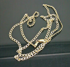 10K Men's/Women's Yellow Gold Link With Diamond Cut Chain 18 Inches Long 2.5mm